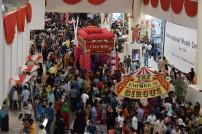Customers enjoying the Emporium Circus (Large)