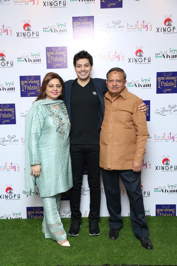 Team Bon Vivant - Salma Khalid, Muhammad Bin Khalid and Khalid Malhi