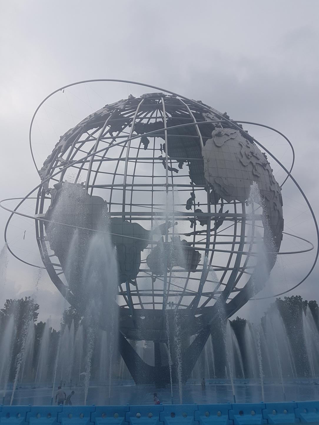 Corona Park Queens - Globe
