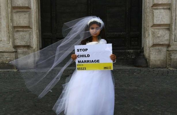 Child bride - AFP